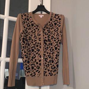 Merona Leopard Print Cardigan 🐆